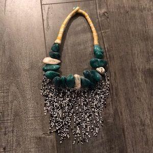 Mango beaded necklace